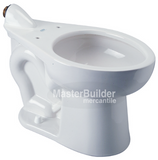 Zurn Z5667-BWL HET Elongated Floor Mounted ADA Height EcoVantage® Back Spud Flush Valve Toilet