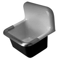 "Zurn Z5890 / Z5898 24"" x 20"" Cast Iron Service Sink"