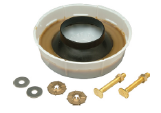 Zurn Z5972-COMB Closet Bolt and Wax Ring Kit