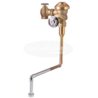 "Zurn Z6197AV-EWS 0.5 GPF Concealed Flush Valve for 3/4"" Urinals with Top Spud Connection"