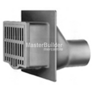 Zurn Z629 Vertical Wall Drain with Integral Backwater Valve
