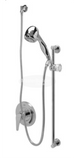 Zurn Z7300-SS-HW-MT Single Handle Pressure Balancing Mixing Shower Unit w/ Hand/Wall Shower Head