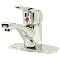 "Zurn Z82200-XL-CP4 Lead-Free Single Control Faucet 4"" Center"