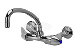 "Zurn Z841J3-XL Service Sink Faucet w/ 9-1/2"" Tubular Spout and Dome Lever Handles"