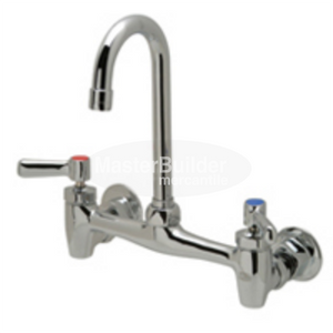 "Zurn Z843A1-XL Sink Faucet with 3-1/2"" Gooseneck and Lever Handles Lead-Free"