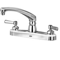 "Zurn Z871G1-XL Lead-Free 8"" Centerset Faucet with 8"" Cast Spout and Lever Handles"