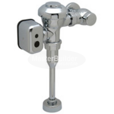 Zurn ZEMS6003AV-ULF-IS 0.125 GPF Exposed Hardwired Automatic Sensor Flush Valve Urinal with Integral Sensor