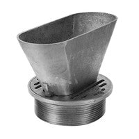 Zurn ZN400-BF Round Nickel Bronze Floor Drain Strainer with Oval Funnel