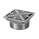 Zurn ZN400-5Y ZN400-6Y Medium-Duty Square Nickel Bronze Floor Drain Strainer