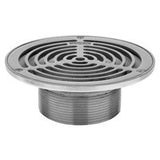 "Zurn ZS400-5BS Medium-Duty Stainless Steel 5"" Round Floor Drain Strainer"