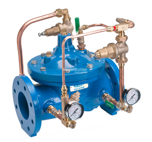 "Zurn Wilkins 3-ZW209BP 3"" Pressure Reducing Valve with Low Flow By-Pass, Pilot Controlled, Lead-Free"