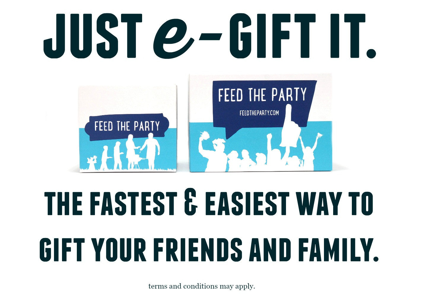 E Gift Cards Feed The Party