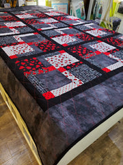 Lady Bug Quilt - The Artisans Gifting Company
