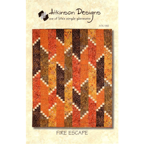 Fire Escape Patterns - The Artisans Gifting Company /Quilts