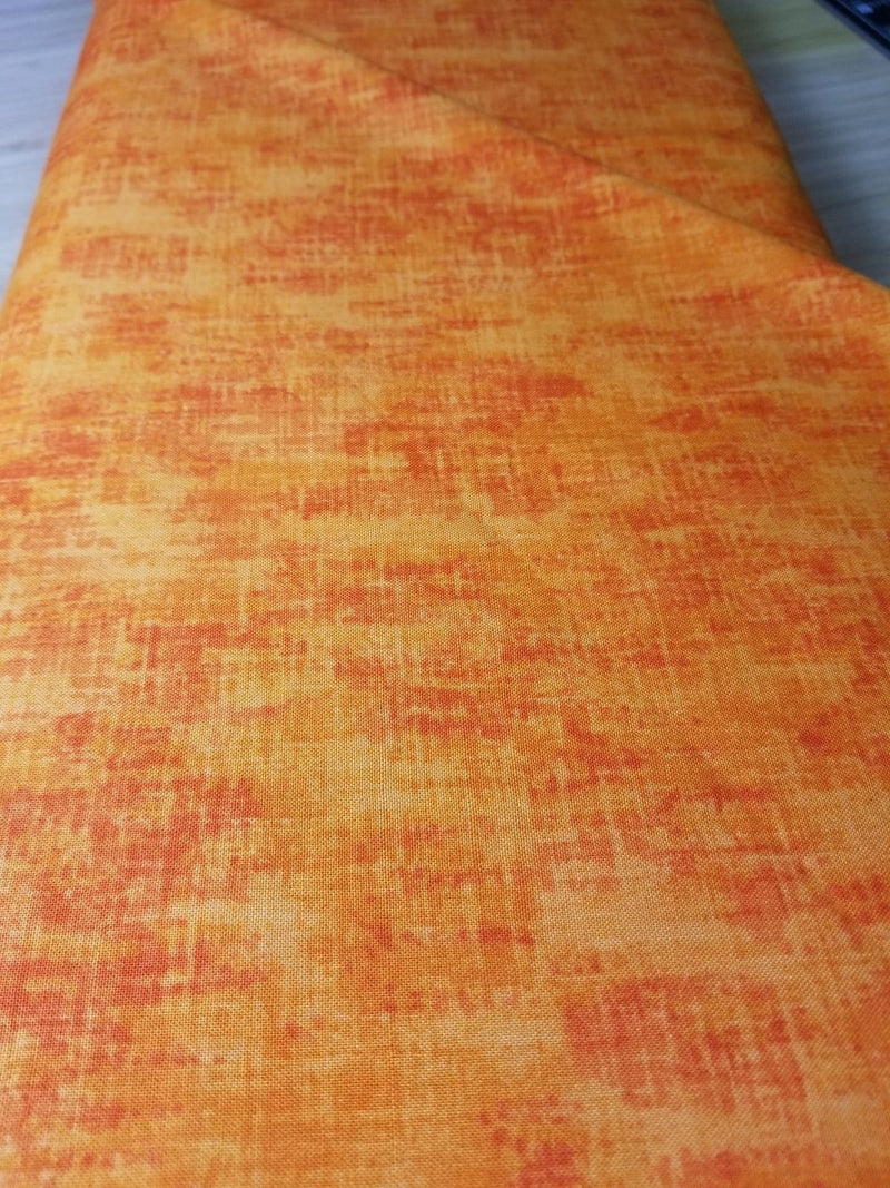 Timeless Treasures Fabric by the Metre Studio Orange - Fabric by the Metre