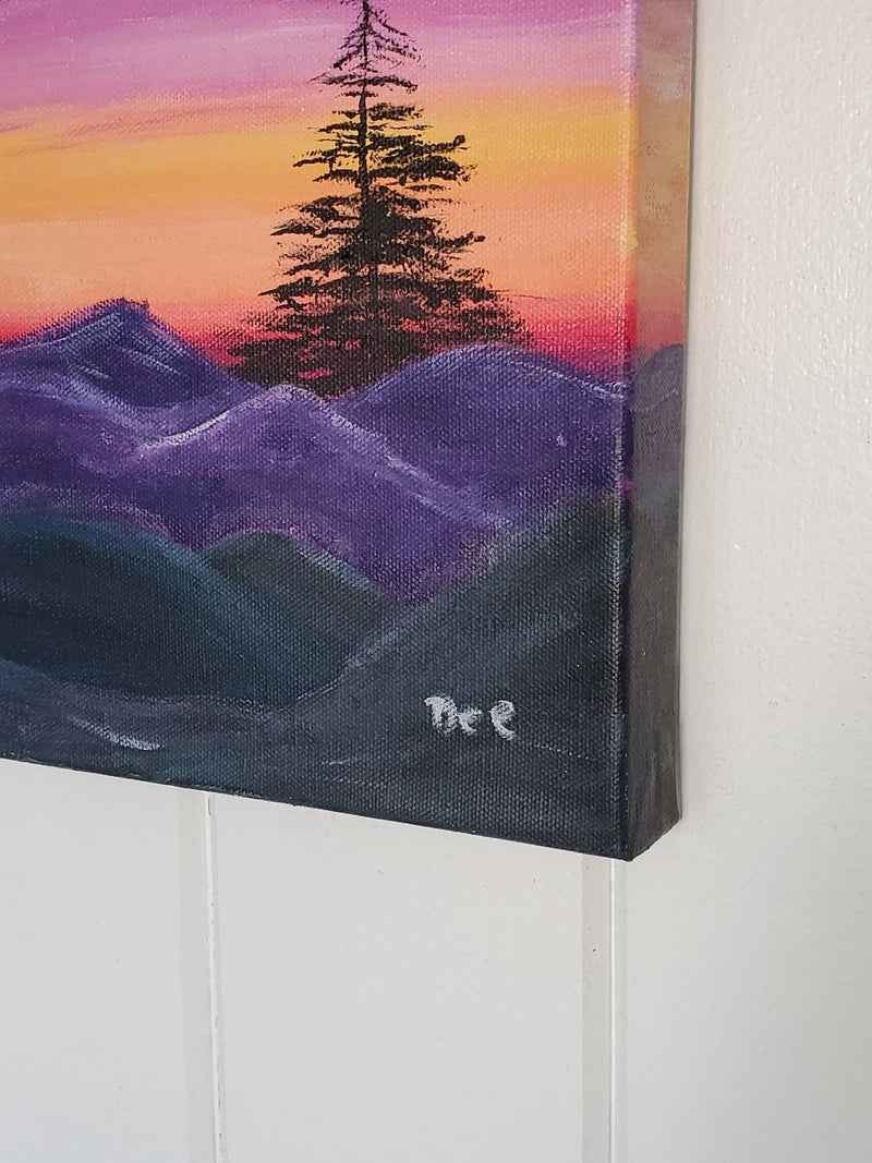 The Artisans Gifting Company Painting True North - Original Acrylic Painting on Stretched Canvas