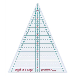 Kaleidoscope Triangle Ruler by Quilt in a Day - The Artisans Gifting Company /Quilts