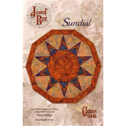 Sundial Pattern - The Artisans Gifting Company /Quilts