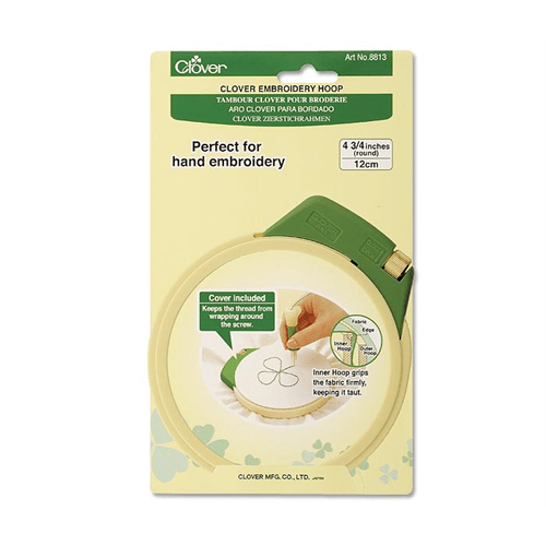 Clover Needlecraft Embroidery Supplies Clover Embroidery Hoop - 4 3/4""