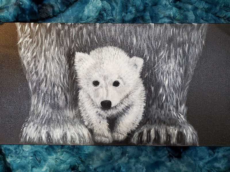 The Artisans Gifting Company Painting Art Work - Polar Bears