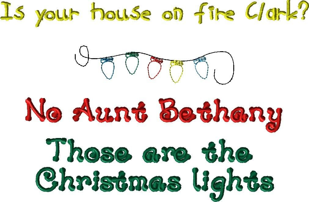 Aunt Bethany Embroidery Design - The Artisans Gifting Company