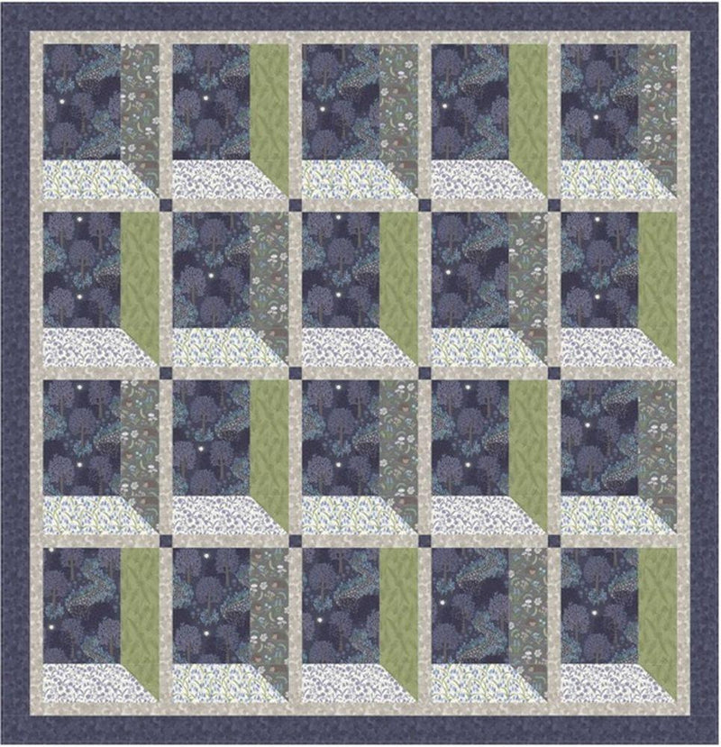Lewis and Irene Free Download Pattern Bluebell Wood Free Quilt Pattern