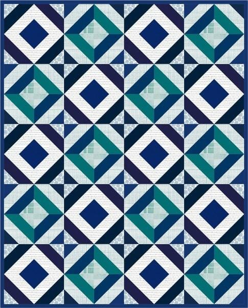 Free Downloadable Quilt Pattern - Square Dance by Robert Kaufman - The Artisans Gifting Company