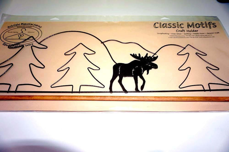 Ackfeld Manufacturing Quilting Supplies Moose Craft Holder