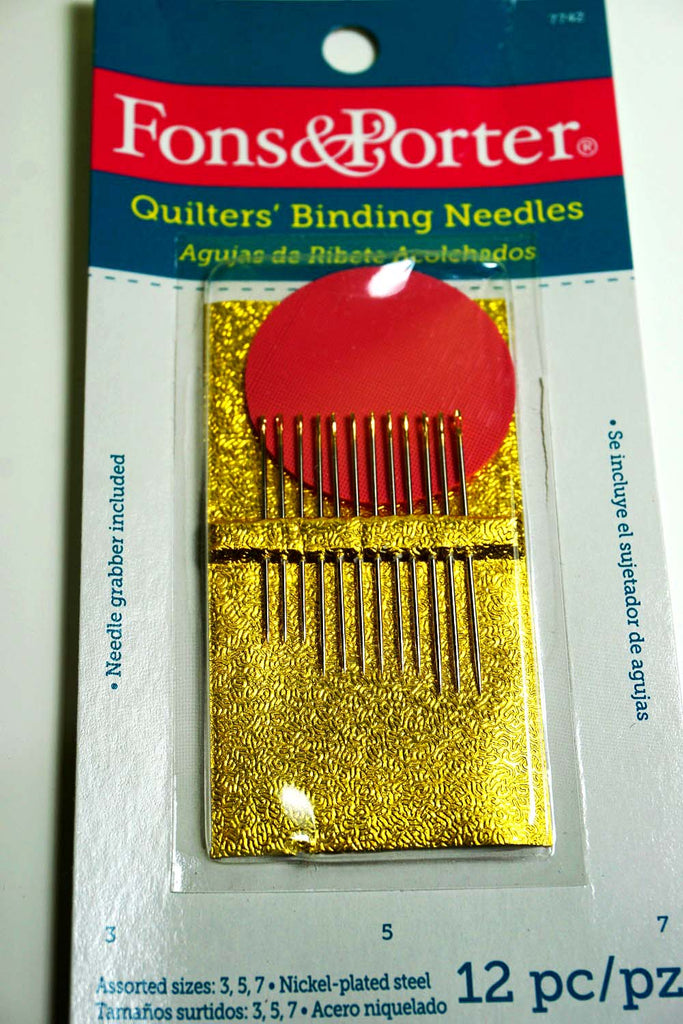 Quilters Binding Needles - The Artisans Gifting Company
