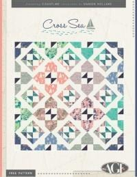Art Gallery Fabric Free Download Pattern Cross Sea by Art Gallery Fabric