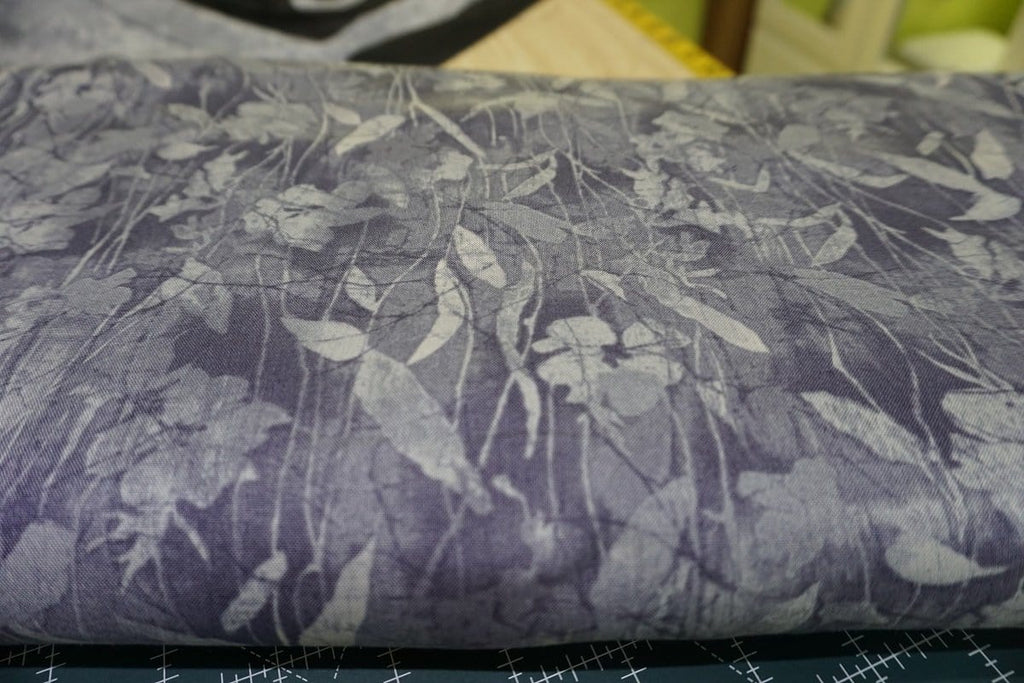Cotton-Aged to Perfection-Violet Tender Vines - The Artisans Gifting Company /Quilts