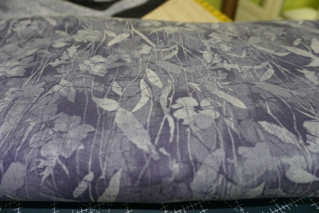 Cotton Fabric Aged to Perfection Violet Tender Vines by Maywood Studio - The Artisans Gifting Company