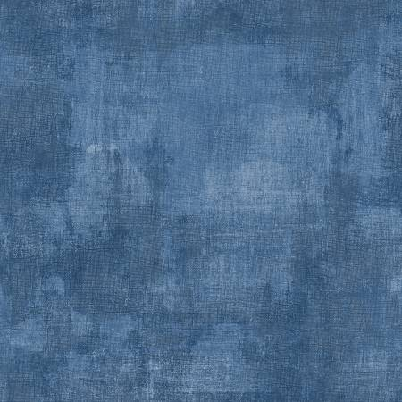 Denim Dry Brush Fabric by the Metre - The Artisans Gifting Company /Quilts
