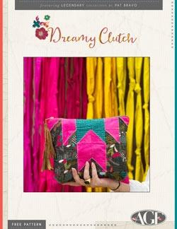 Dream Clutch by Art Gallery Fabric - The Artisans Gifting Company