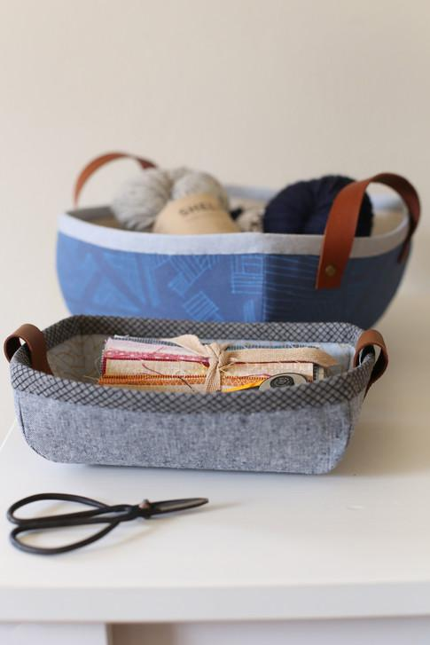 Free Downloadable Pattern - Tiny Treasures Basket and Tray - The Artisans Gifting Company