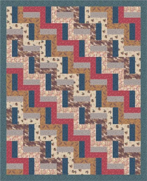 Farley Mount Quilt Design 1 Quilt Pattern - The Artisans Gifting Company