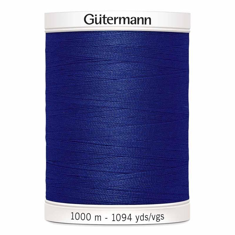 The Artisans Gifting Company Quilting Fabric, Notions, Yarn Crafts and Handmade Gifts Thread GÜTERMANN MCT Sew-All Thread 1000 m - Navy