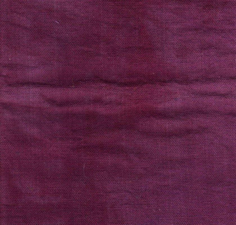 Fiber-on-a-Whim Fabric by the Metre Hand-Dyed Osnaburg - Raspberry