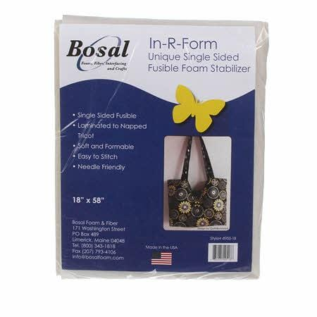 Bosal Batting Bosal In-R-Form Fusible Foam Stabilizer Off White 58 x 18 inches
