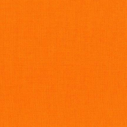 Robert Kaufman Fabrics Fabric by the Bolt KONA Solid - CLEMENTINE - Fabric by the Bolt