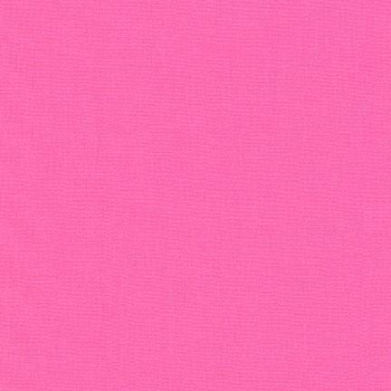Robert Kaufman Fabrics Fabric by the Bolt KONA Solid - SASSY PINK - Fabric by the Bolt