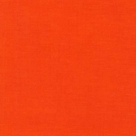 Kona by Kaufman Cotton Solid - Tangerine - The Artisans Gifting Company