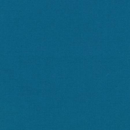 Kona by Kaufman Cotton Solid - Teal Blue - The Artisans Gifting Company