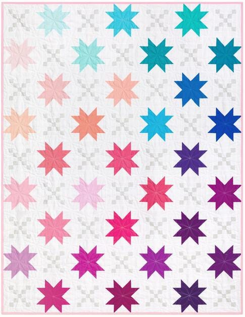 Robert Kaufman Quilting Pattern Candy Stars Pattern Download