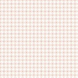 Camelot Design Studio Fabric by the Metre Lattice in Peach Fabric by the Metre