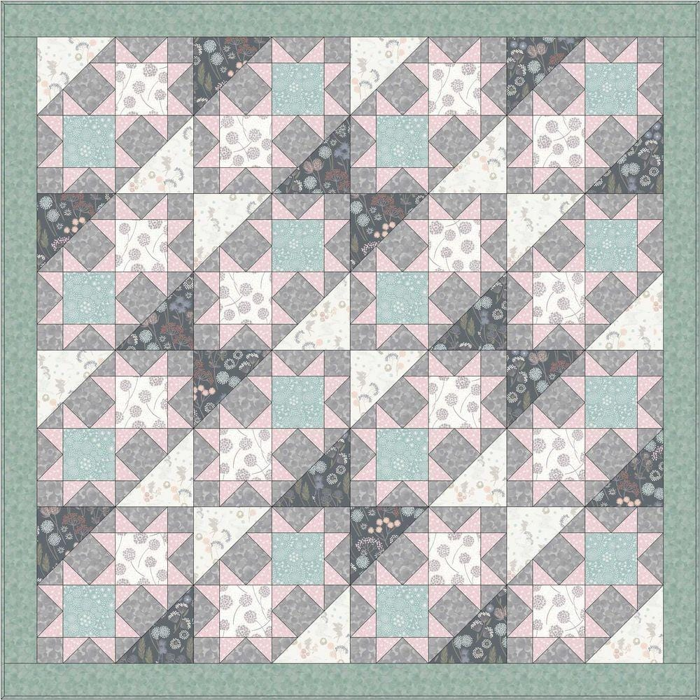 Make Another Wish Free Downloadable Quilt Pattern - The Artisans Gifting Company