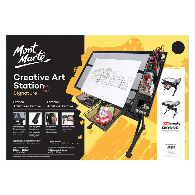 Monte Marte Art Supplies Monte Mart Creative Art Station - Pre-Order