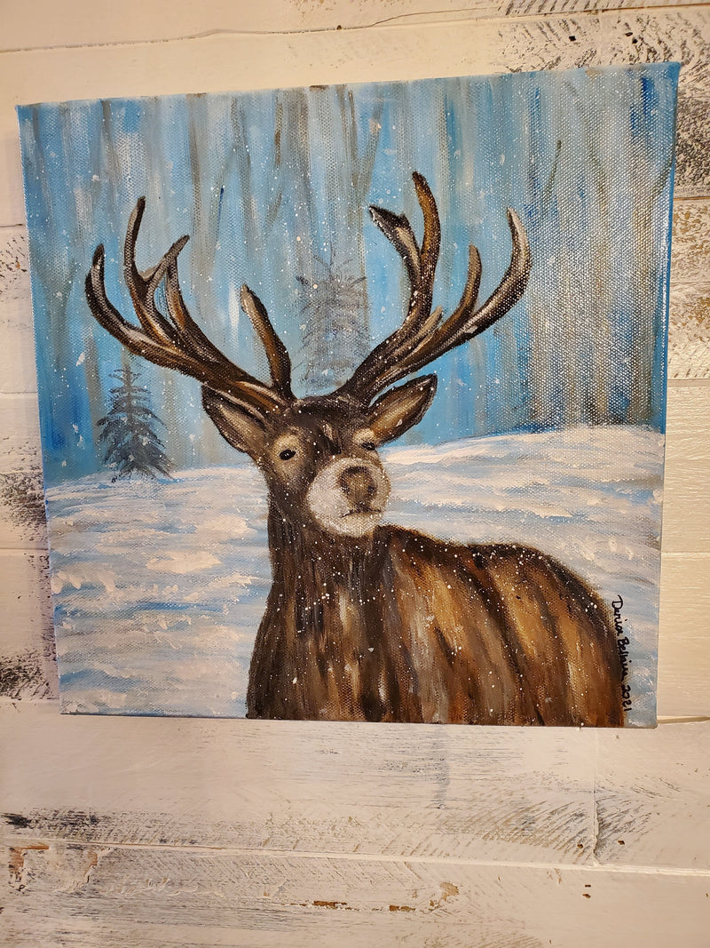 The Artisans Gifting Company Painting Art Work - Oh Deer