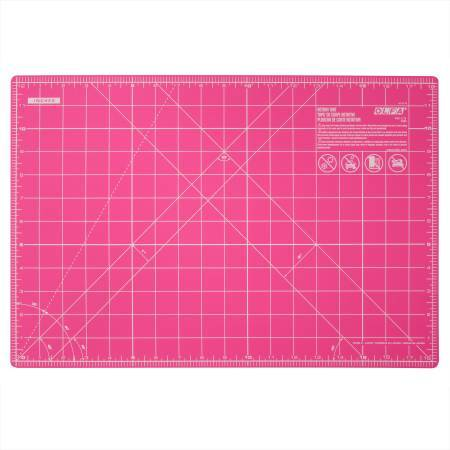 Olfa Splash Companion Mat 12 inches x 18 inches Fairy Floss Pink - The Artisans Gifting Company