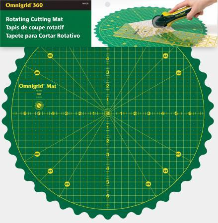 Omnigrid 360 Rotating Mat - The Artisans Gifting Company /Quilts